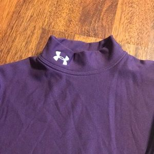 Under Armour turtleneck for layering. Youth M
